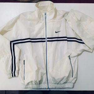 Vtg 90s Nike tennis jacket men's Sz M